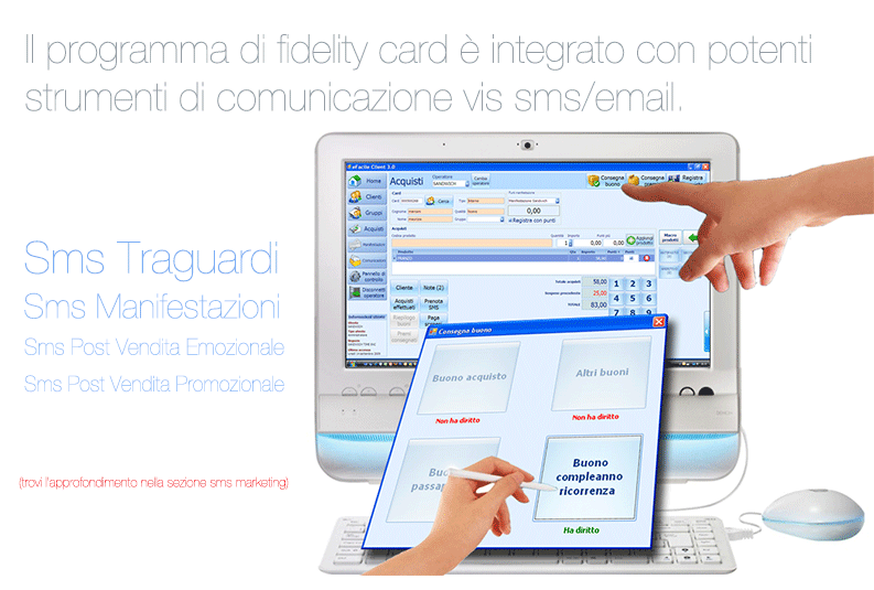 Funzionamento Software Fidelity Card | Loyalty Programm